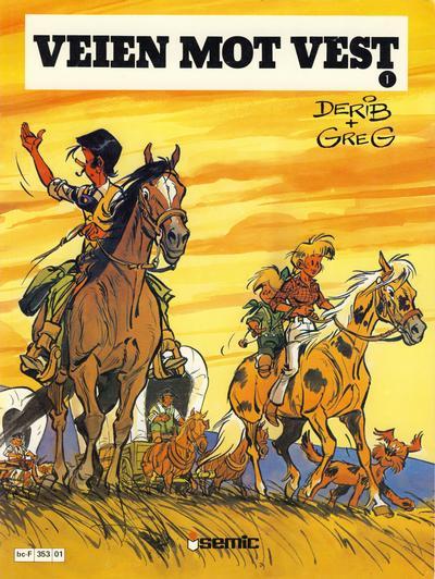 Cover for Veien mot vest (Semic, 1980 series) #1