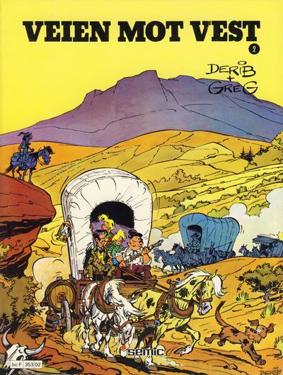 Cover for Veien mot vest (Semic, 1980 series) #2