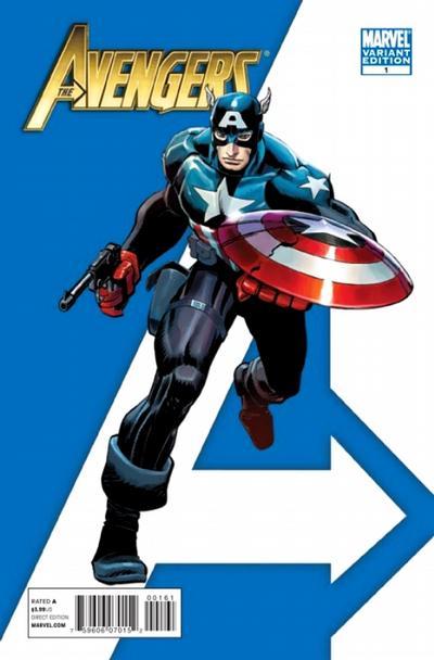 Cover for Avengers (Marvel, 2010 series) #1 [Standard Cover]