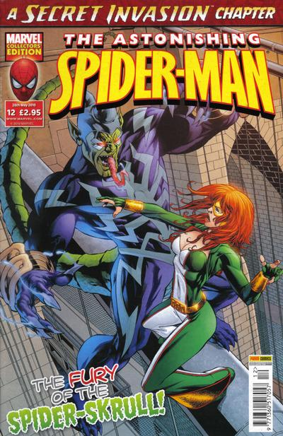 Cover for Astonishing Spider-Man (Panini UK, 2009 series) #12