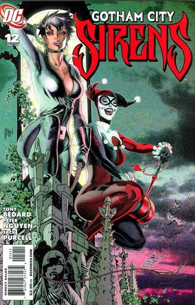Cover for Gotham City Sirens (DC, 2009 series) #12
