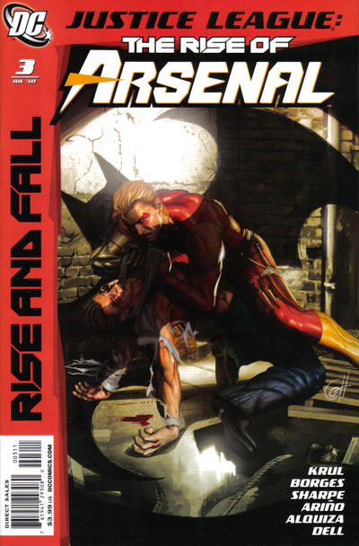 Cover for Justice League: The Rise of Arsenal (DC, 2010 series) #3