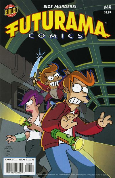 Cover for Bongo Comics Presents Futurama Comics (Bongo, 2000 series) #49