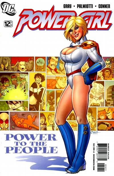 Cover for Power Girl (DC, 2009 series) #12