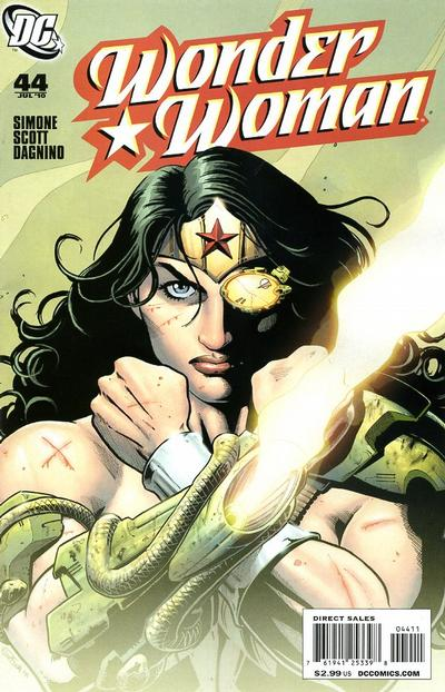 Cover for Wonder Woman (DC, 2006 series) #44