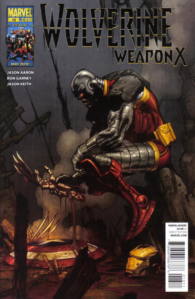 Cover for Wolverine Weapon X (Marvel, 2009 series) #13