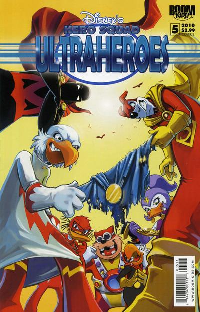 Cover for Disney's Hero Squad (Boom! Studios, 2010 series) #5 [Cover A]