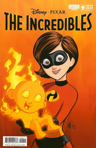 Cover for The Incredibles (Boom! Studios, 2009 series) #9 [Cover A]