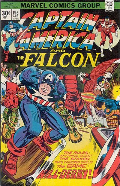 Cover for Captain America (Marvel, 1968 series) #196 [25¢ Cover Price]