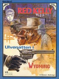 Cover Thumbnail for Western-album (Hjemmet / Egmont, 1977 series) #3 - Red Kelly - Ulvenatten i Wyoming