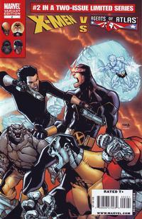 Cover Thumbnail for X-Men vs. Agents of Atlas (Marvel, 2009 series) #2 [Variant Edition]