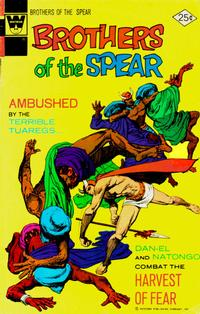 Cover Thumbnail for Brothers of the Spear (Western, 1972 series) #12 [Whitman Variant]