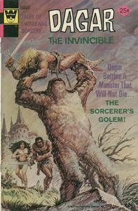 Cover Thumbnail for Tales of Sword and Sorcery Dagar the Invincible (Western, 1972 series) #13 [Whitman]