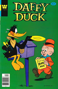 Cover Thumbnail for Daffy Duck (Western, 1962 series) #121 [Whitman Variant]