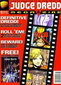 Cover Thumbnail for Judge Dredd Megazine (Fleetway Publications, 1995 series) #2