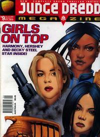 Cover Thumbnail for Judge Dredd Megazine (Fleetway Publications, 1995 series) #9