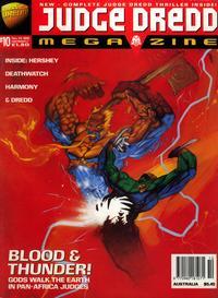 Cover Thumbnail for Judge Dredd Megazine (Fleetway Publications, 1995 series) #10