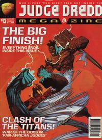 Cover Thumbnail for Judge Dredd Megazine (Fleetway Publications, 1995 series) #13