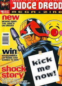 Cover Thumbnail for Judge Dredd Megazine (Fleetway Publications, 1995 series) #15