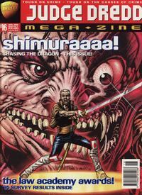Cover Thumbnail for Judge Dredd Megazine (Fleetway Publications, 1995 series) #16