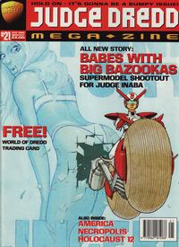 Cover Thumbnail for Judge Dredd Megazine (Fleetway Publications, 1995 series) #21