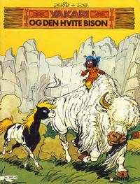 Cover Thumbnail for Yakari (Semic, 1980 series) #2 - Den hvite bison