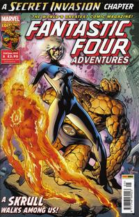 Cover Thumbnail for Fantastic Four Adventures (Panini UK, 2010 series) #5