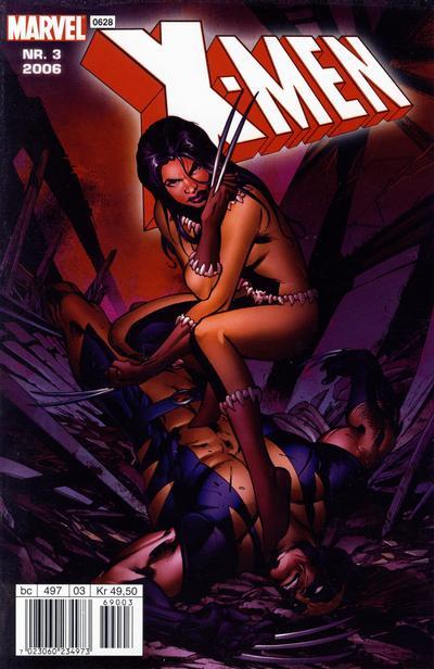 Cover for X-Men (Hjemmet / Egmont, 2003 series) #3/2006