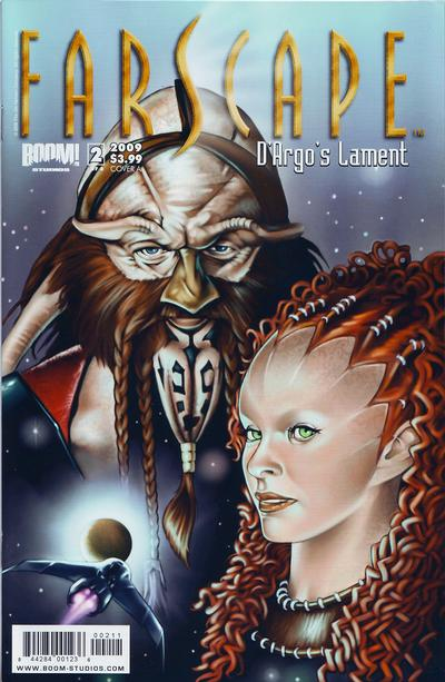 Cover for Farscape: D'Argo's Lament (Boom! Studios, 2009 series) #2 [Challenger Comics Exclusive]