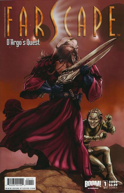 Cover for Farscape: D'argo's Quest (Boom! Studios, 2009 series) #1 [Cover C - Limited Edition]