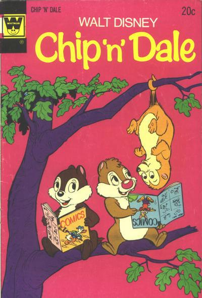 Cover for Walt Disney Chip 'n' Dale (Western, 1967 series) #27