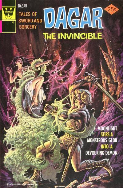 Cover for Tales of Sword and Sorcery Dagar the Invincible (Western, 1972 series) #11 [Whitman]