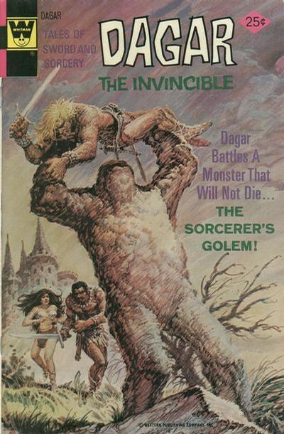 Cover for Tales of Sword and Sorcery Dagar the Invincible (Western, 1972 series) #13 [Whitman]