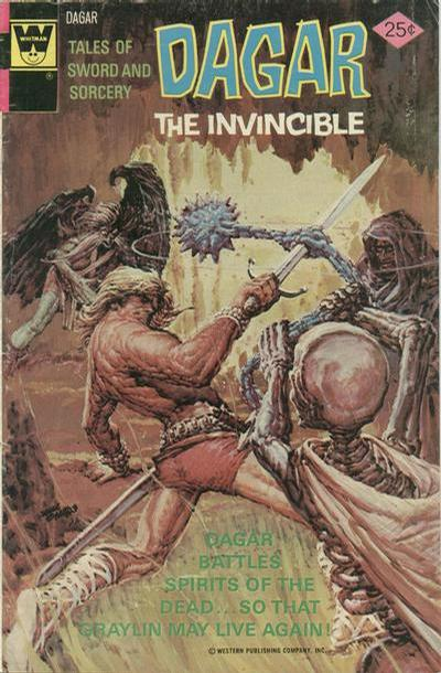 Cover for Tales of Sword and Sorcery Dagar the Invincible (Western, 1972 series) #14 [Gold Key]