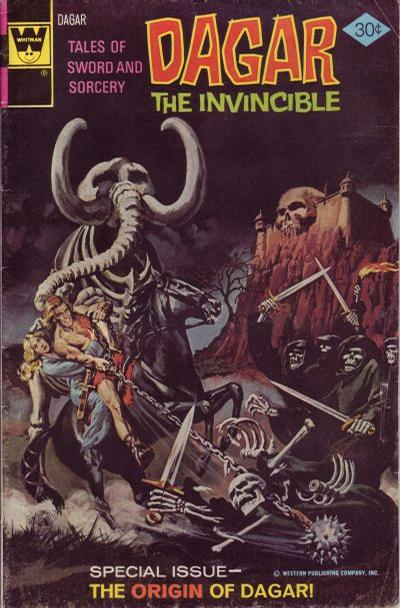 Cover for Tales of Sword and Sorcery Dagar the Invincible (Western, 1972 series) #18 [Whitman]
