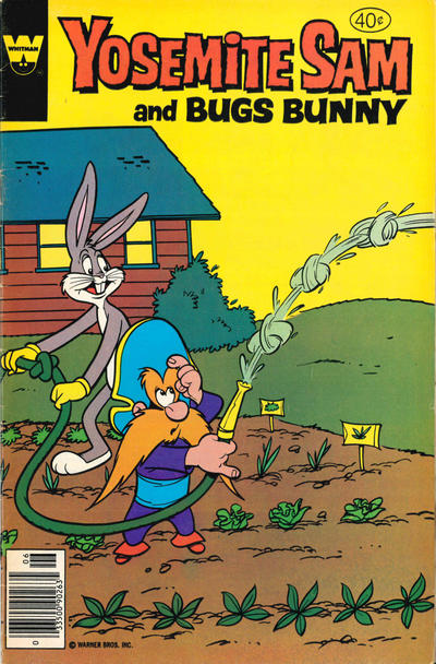Cover for Yosemite Sam (Western, 1970 series) #60 [Whitman Variant]