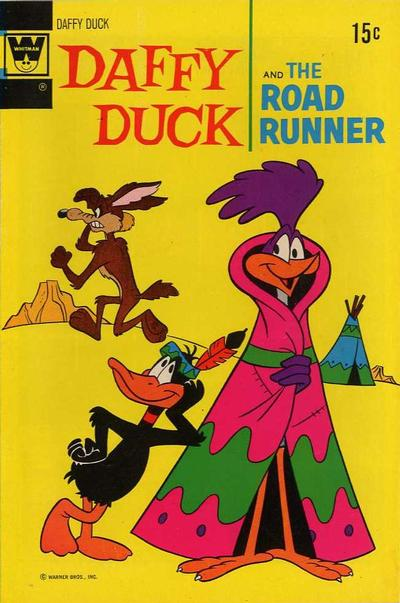Cover for Daffy Duck (Western, 1962 series) #76 [Whitman Variant]