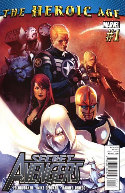 Cover for Secret Avengers (Marvel, 2010 series) #1 [Standard Cover]