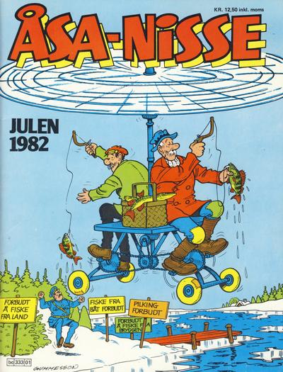 Cover for Åsa-nisse julealbum (Semic, 1982 series) #1982