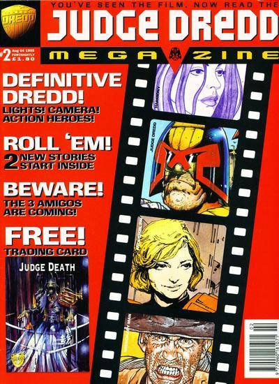 Cover for Judge Dredd Megazine (Fleetway Publications, 1995 series) #2