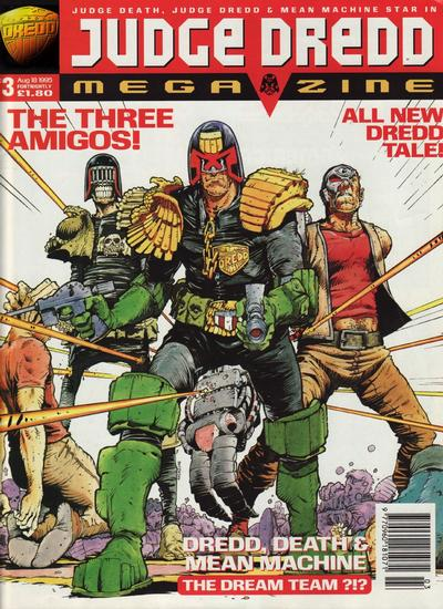 Cover for Judge Dredd Megazine (Fleetway Publications, 1995 series) #3