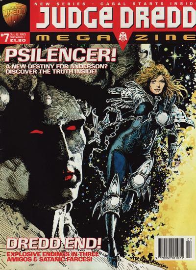 Cover for Judge Dredd Megazine (Fleetway Publications, 1995 series) #7