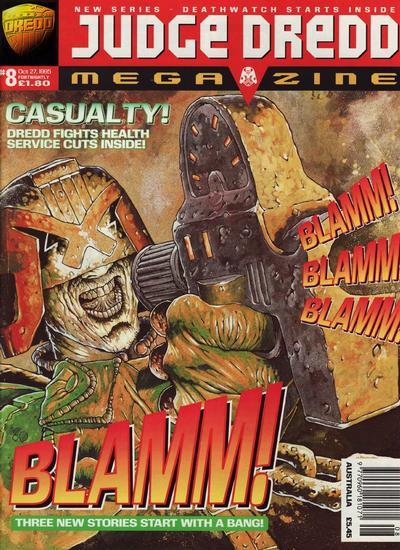 Cover for Judge Dredd Megazine (Fleetway Publications, 1995 series) #8
