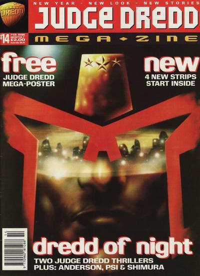 Cover for Judge Dredd Megazine (Fleetway Publications, 1995 series) #14