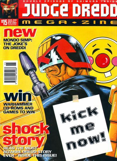 Cover for Judge Dredd Megazine (Fleetway Publications, 1995 series) #15