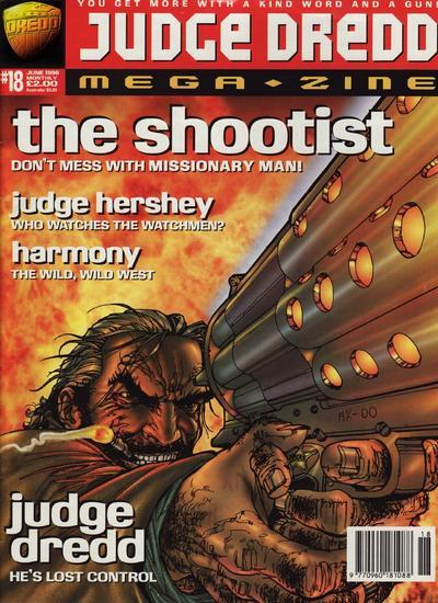 Cover for Judge Dredd Megazine (Fleetway Publications, 1995 series) #18