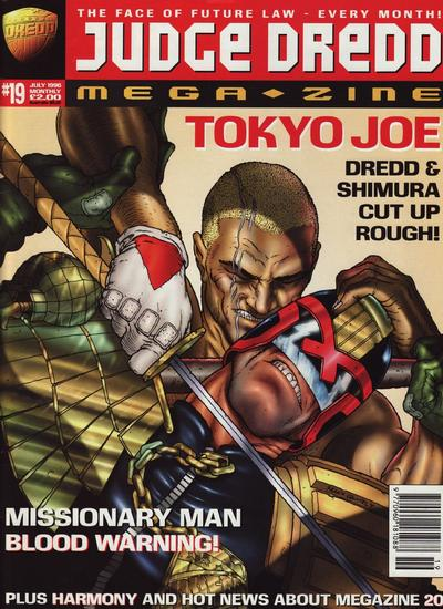 Cover for Judge Dredd Megazine (Fleetway Publications, 1995 series) #19
