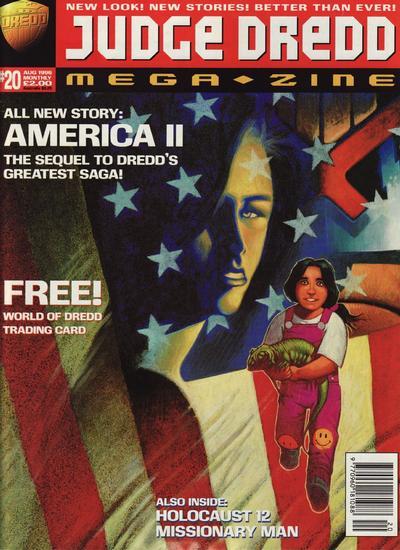 Cover for Judge Dredd Megazine (Fleetway Publications, 1995 series) #20