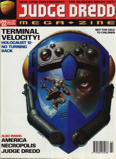 Cover for Judge Dredd Megazine (Fleetway Publications, 1995 series) #22