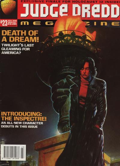 Cover for Judge Dredd Megazine (Fleetway Publications, 1995 series) #23